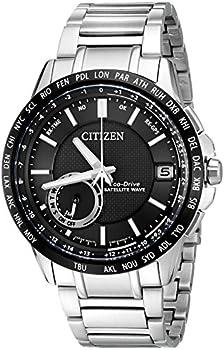 Citizen Men's Eco-Drive Satellite Wave World Time GPS Watch