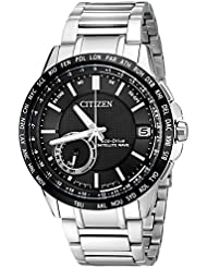 Citizen Mens Eco-Drive Satellite Wave World Time GPS Watch with Day/Date, CC3005-85E