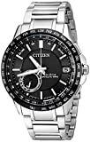 Citizen Men's Eco-Drive Satellite Wave World Time GPS Watch with...