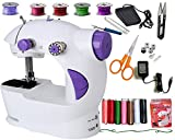 Vivir Ming H 4 in 1 Multifunctional Sewing Machine for Home Mini with Stiching Kit Accessories