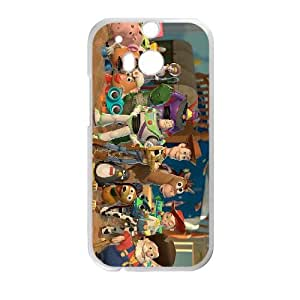Disneys Toy Story 004 HTC One M8 Cell Phone Case White TPU Phone Case RV_544436