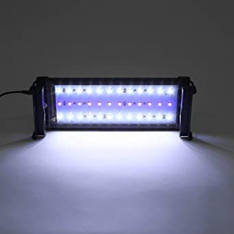 DECKEY Lámpara de Acuario Luces para Acuarios y estanques Se aplica a 30-50 cm