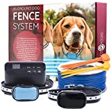Redhound Inground Dog Perimeter Fence to Prevent Pets...