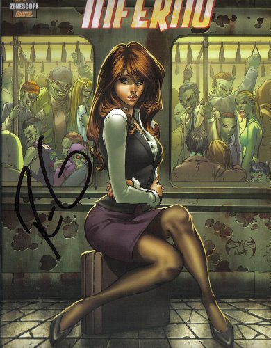 Used, Grimm Fairy Tales Inferno No. 1 Cover A Signed By Raven for sale  Delivered anywhere in USA