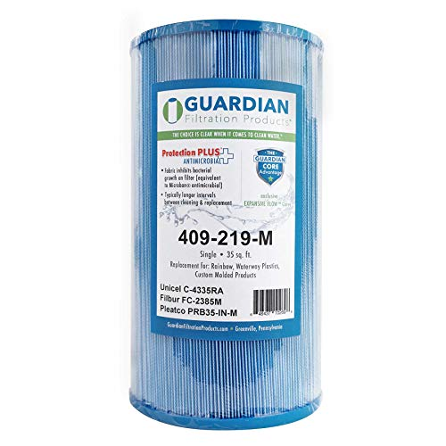 Guardian Pool Spa Filter Replaces Unicel C-4335 - PleatcoPrb35-IN - FC-2385 - Rainbow Dynamic Series Iv ()