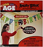 Angry Birds Letter Banner 10 Ft.