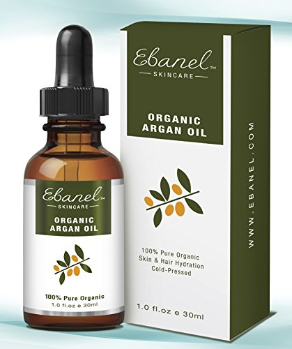 Organic Argan Oil (1oz / 30ml), 100% Pure Organic, Cold-pressed