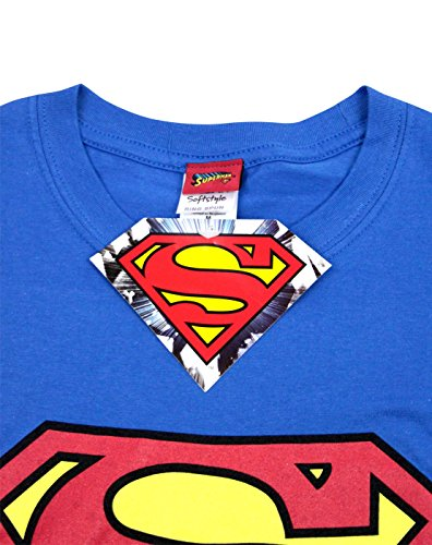 DC Comics Superman Shield Logo Men's T-Shirt