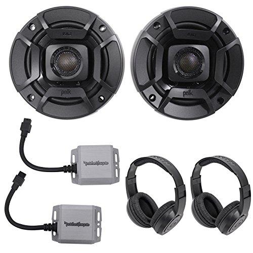 2) Rockford Fosgate PM100X1 100w Mini Mono Marine Amps+2) Po
