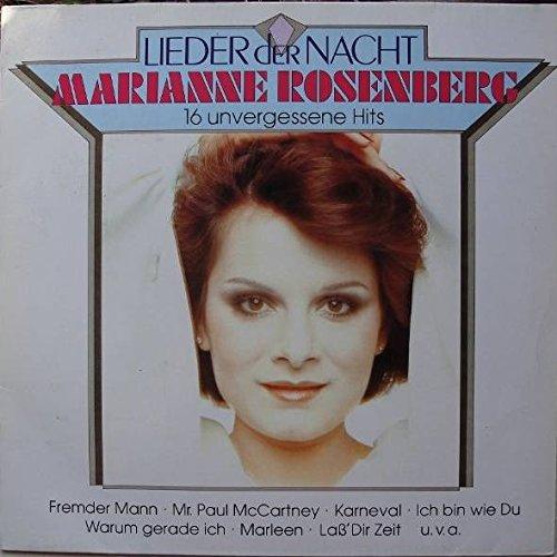 Marianne Rosenberg - Marianne Rosenberg - Lieder Der Nacht - 16 Unvergessene Hits - Hansa - 209 296 - Zortam Music