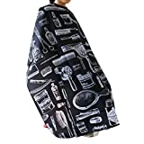 Barber Cape ROSENICE Hair Cut Salon Aprons With Buttons