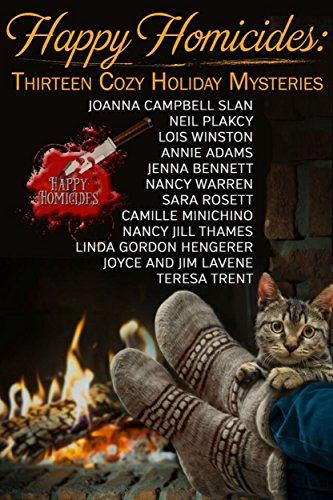 Book cover image for Happy Homicides: Thirteen Cozy Holiday Mysteries