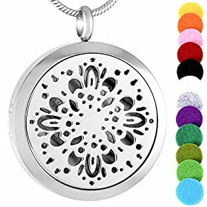 Amazon.com: memorial jewelry (Free Pads) Aromatherapy