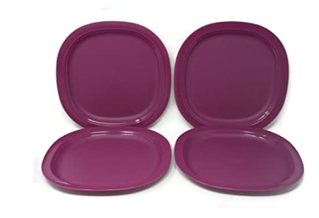 Amazon.com: Tupperware Microondas Postre Platos, color ...