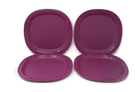 Amazon.com: Tupperware Microondas Postre Platos, color ...