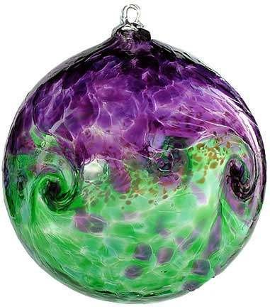 Kitras Art Glass Van Glow Witch Ball 6