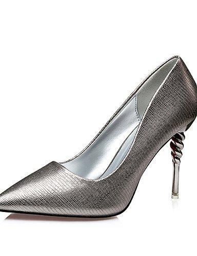 GGX/Damen Schuhe Fall Heels/spitz Zehen/geschlossen Zehen Clogs & Pantoletten Kleid Stiletto Ferse andere schwarz/braun/champagner brown-us8 / eu39 / uk6 / cn39