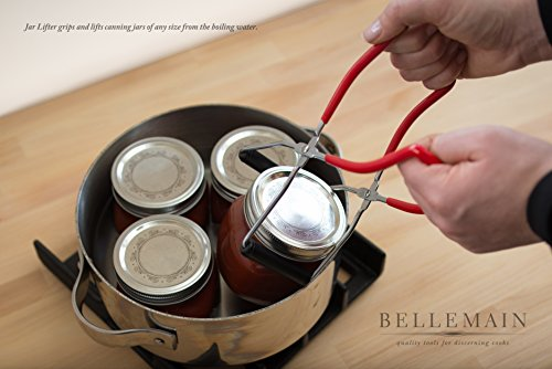 Bellemain 6 Piece Canning Tool Set - Vinyl Coated Stainless Steel by Bellemain (Image #1)