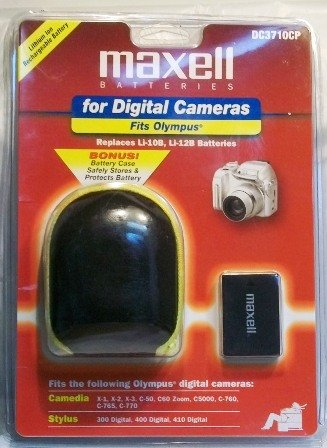 Maxell Batteries for Olympus Digital Cameras DC3710CP