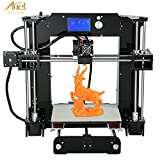 3D Printer Kit - Loee Upgraded DIY Desktop 3D Printer Reprap Prusa i3 Kit, High Accuracy Self-Assembly Tridimensional FDM Printer, Multicolor Printing Machine