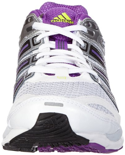 adidas Performance resp stab 5w - Zapatillas de correr de material sintético mujer blanco - Weiß (RUNNING WHITE FTW / NIGHT MET. F13 / RAY PURPLE F13)