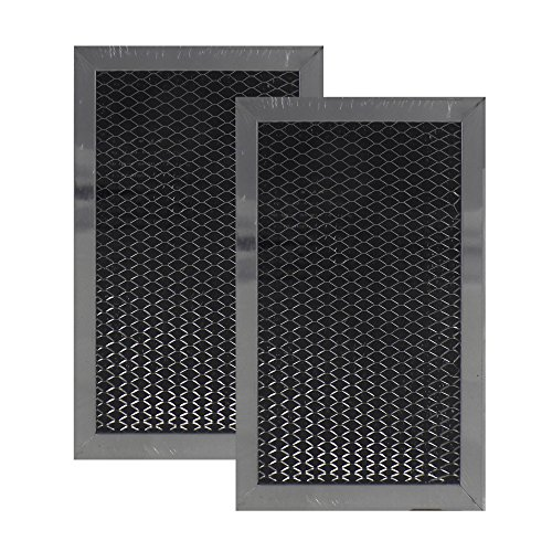 Air Filter Factory 2 PACK Compatible Replacement For LG 5230W1A011C Microwave Oven Charcoal Carbon Filter by Air Filter Factory (Image #1)'