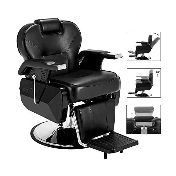 Buy Paddie Barber Chairs Heavy Duty for All Purpose