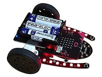 Ultraschall Entfernungsmesser Analog : Bit bot u roboter set für micro enthält eine ultraschall