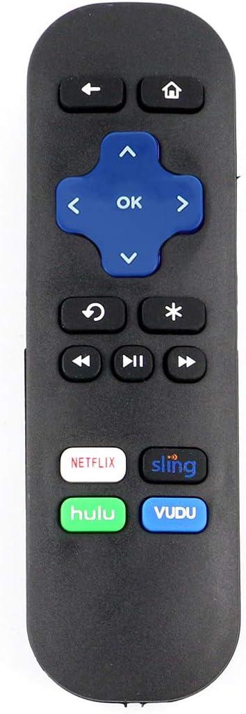 New Remote Control for ROKU 1 2 3 4 LT HD XD XS XDS Roku Express HD Roku Express Streaming Player Streaming Media Player 3910RW 620RW 3900R 3700RW3710RW 3900RW 4620R 3710XB 4620XB 3700R