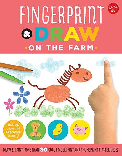 Fingerprint & Draw: On the Farm