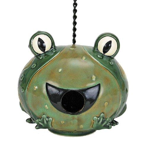 Frog Birdhouse - 9
