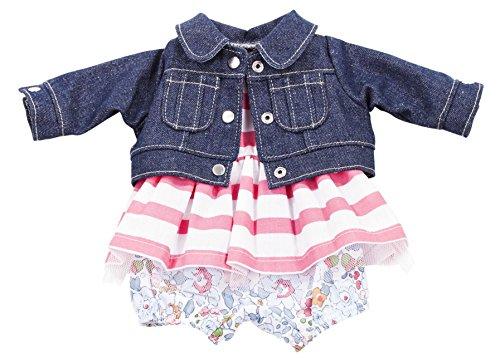 fit Denim Jacket Flower Pants Striped Dress 13