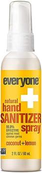 6 Count Everyone 2 Ounces Coconut & Lemon Hand Sanitizer Spray