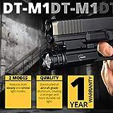 DefendTek Rechargeable Gun Flashlight Tactical