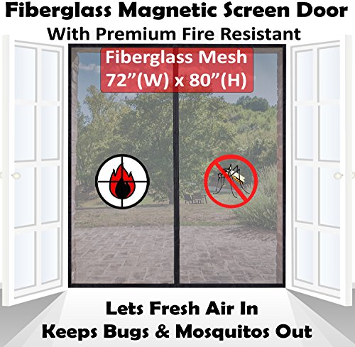garage door retractable screen - 8