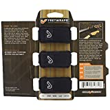 Gruv Gear FW-3PK-SM FW-3PK-SM FretWraps 3 Pack String Muters, Small, Black