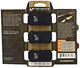 FretWraps String Dampeners/String Muters for Bass & Guitar, 3-Pack, Black