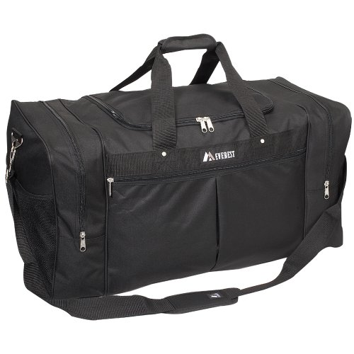 Price comparison product image Everest Luggage Travel Gear Bag - Xlarge,  Black,  One Size