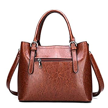 78431ccef7d3 Amazon.com : GSYDXKB Women's Leather Handbags Brand Disgener Large ...