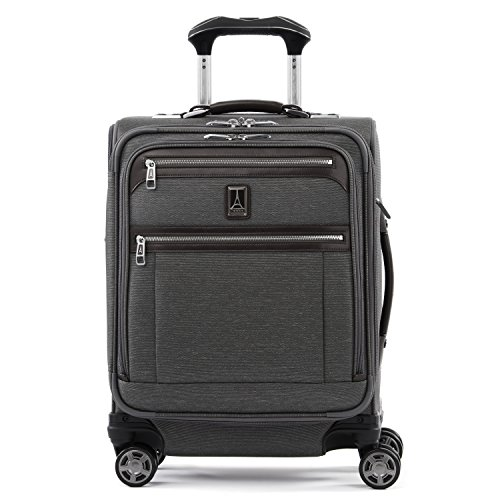 Travelpro Luggage Platinum Elite 20 Carry On Intl Expandable Spinner W Usb Port Vintage Grey