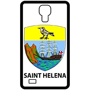 Saint Helena - Country Coat Of Arms Flag Emblem Black Samsung Galaxy S4 i9500 Cell Phone Case - Cover