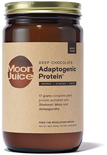 Protein Deep (Moon Juice - Organic Deep Chocolate Adaptogenic Protein (16 oz))