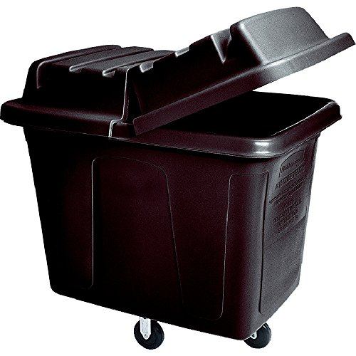 Rubbermaid Commercial 1867538 Executive Series Box Cart with Quiet Casters, 12-cubic ()