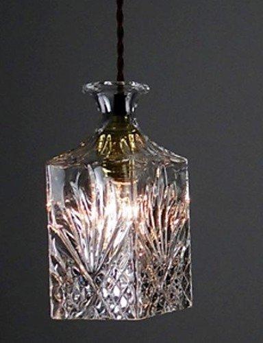 Lámpara de techo Cristal transparente Shade cocina, el ...