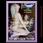 Wyatt's Roadside Assistance: An MFFF Group Sex Erotica Short   Kassandra Stone