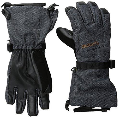 (Burton Youth Grab Gloves, Denim, Medium)