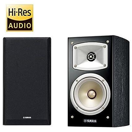 YAMAHA 2 Way Bookshelf Speaker 1 Pair NS B330B Black