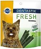 PEDIGREE DENTASTIX Fresh Mini Treats for Dogs - 5.26 oz. 21 Count (Pack of 6)