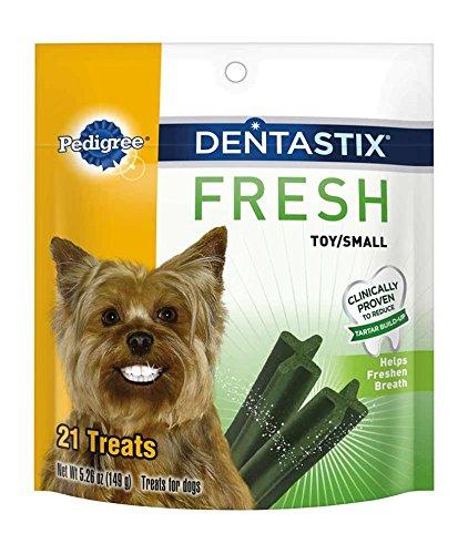 PEDIGREE DENTASTIX Fresh Toy/Small Treats for Dogs - 5.26 oz