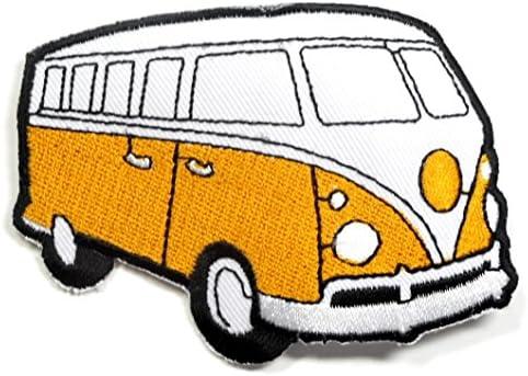 【ノーブランド品】アイロンワッペン ワッペン 車・バイク(車体)ワッペン 刺繍ワッペン  アイロンで貼れるワッペン